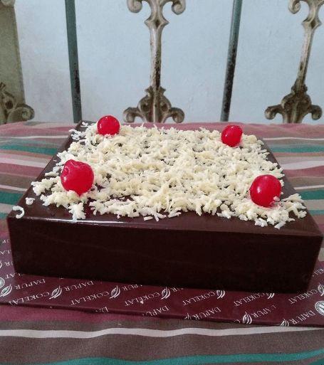 Puding Brownies Coklat