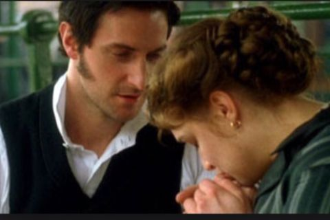 Mr. Thornton and Margaret Hale from BBC's North and South. I L.O.V.E this movie!!! Starring Richard Armitage and Daniela Denby-Ashe.