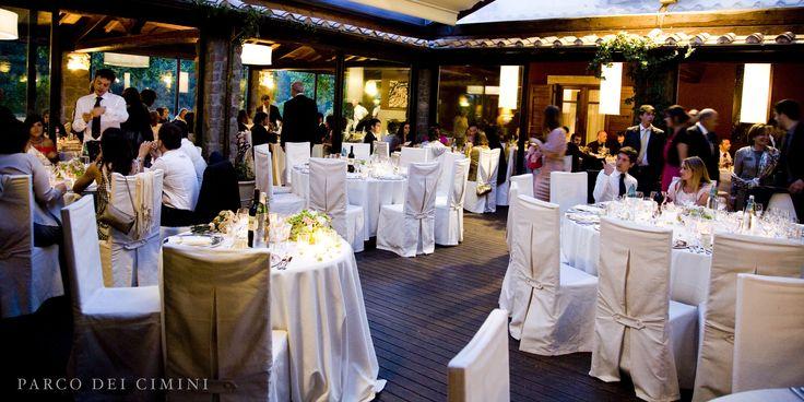 Patio centrale ristorante