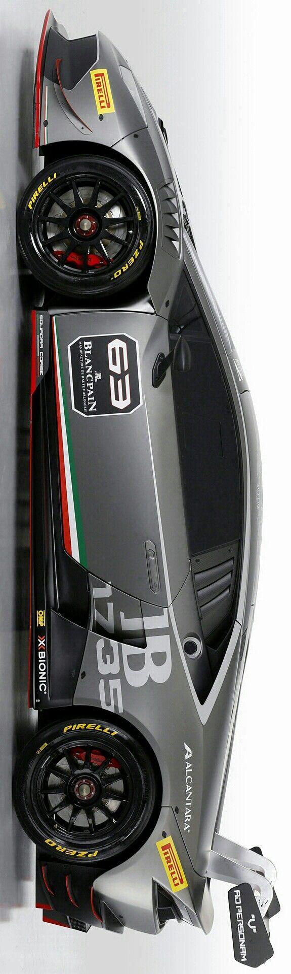 Stelios Karalis || ☆ ✲~ Luxury Connoisseur ~ ✲ ️2015 Lamborghini Huracan LP620-2 Super Trofeo by Stelios