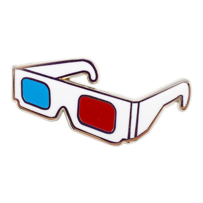 3D Glasses Pin from Valley Cruise Press