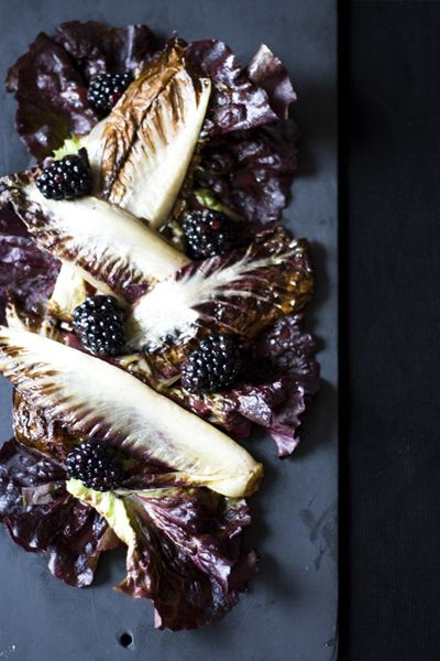 Roasted Radicchio with Blackberry Vinaigrette — The Jewels of New York