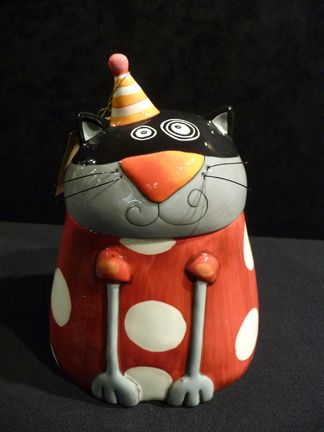 whimsical cat - Google Search great humor for my hollow form containers!