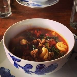 Spinach, Tomato, and Tortellini Soup One of my favorite things about this time of year is that it's appropriate to eat soup at least once a week. Soup is one of my favorite foods–it's flavorful, it's light, and it's endlessly customizable. I've been known to order a nice hot bowl of tomato soup in the middle of Texas in July, […] Continue reading... The post Spinach, Tomato, and Tortellini Soup appeared first on Fun Healthy Recipes .