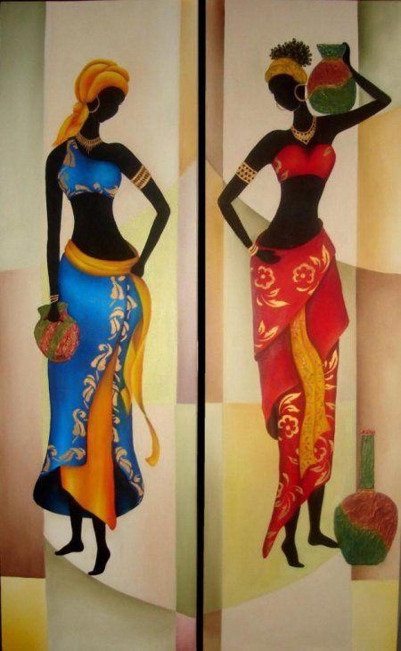 ilustraciones de africanas en pinterest - Buscar con Google
