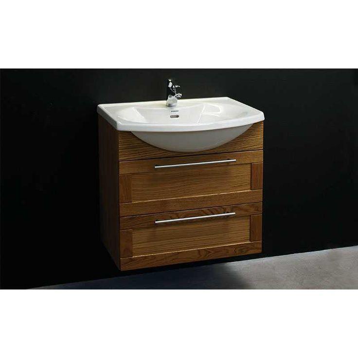 Classic 65 Vanity Unit And Porcelain Basin (framed) | Bathroom City