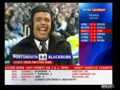 This news reporter is dumbfounded when the anchor tells him moments ago the teams star player was red-carded and ejected from the game. A red card? You don't say?