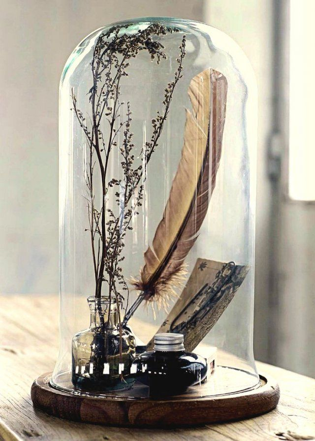 les 25 meilleures id es de la cat gorie cloche en verre sur pinterest cloche verre cloche en. Black Bedroom Furniture Sets. Home Design Ideas