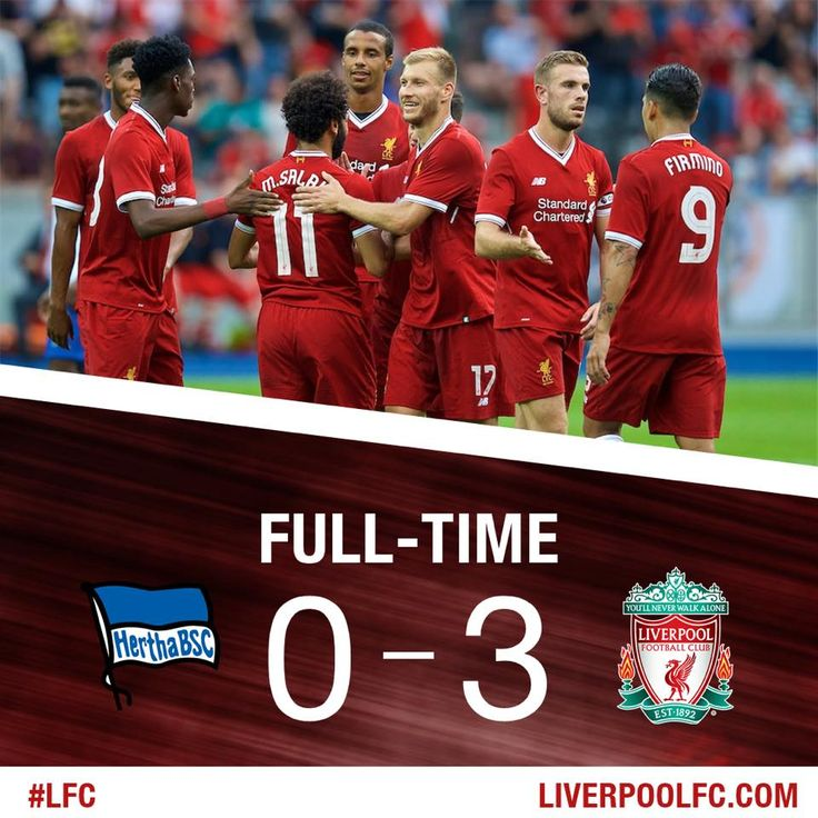 Hertha BSC- Liverpool FC - 0:3 (0:2) Solanke, Wijnaldum, Salah