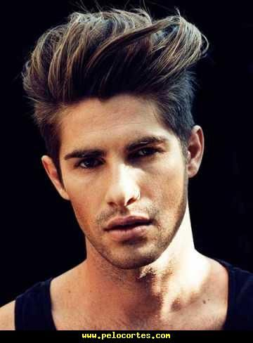 Mejores Peinados Para Hombres Pelo Liso Cortes De Pelo Con Estilo 2018