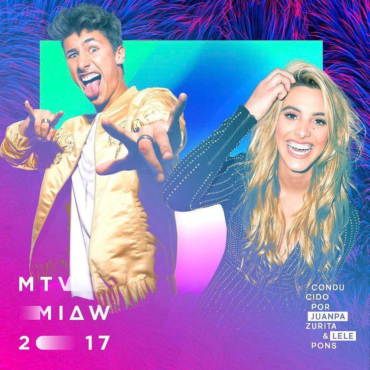 Súper emocionada y honrada de conducir junto a mí querido Juanpa los premios MTV MIAW el 4 de Junio de este año!! Les garantizo que será increíble y muy divertido!! #zuripons