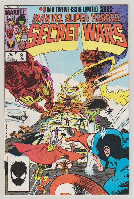 Marvel Super Heroes Secret Wars Vol 1 9 by RubbersuitStudios #secretwars #comicbooks