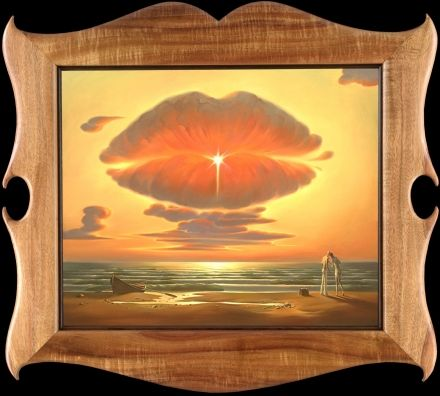 ⨘ vladimir kush ⨘ ♡ farewell kiss ♡  take a visual ride at: http://vladimirkush.com/
