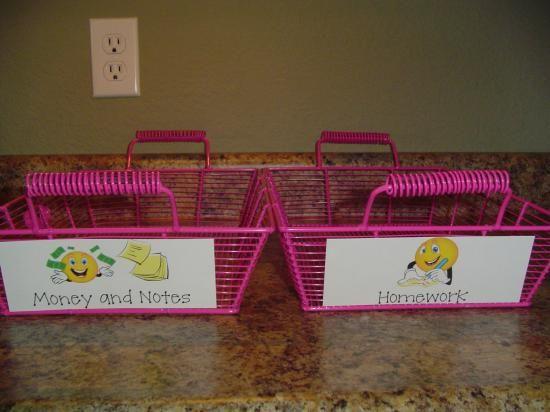 Morning-letter-trays.JPGMorning'S Letters Trays Jpg, Ideas, Organic Classroom, Bins Money, Kids Organic, Mornings Trays, Homework Tray, Homework Bins, Note Money Baskets