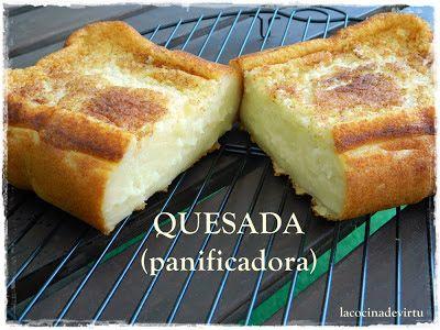 La cocina de Virtu: QUESADA (panificadora)