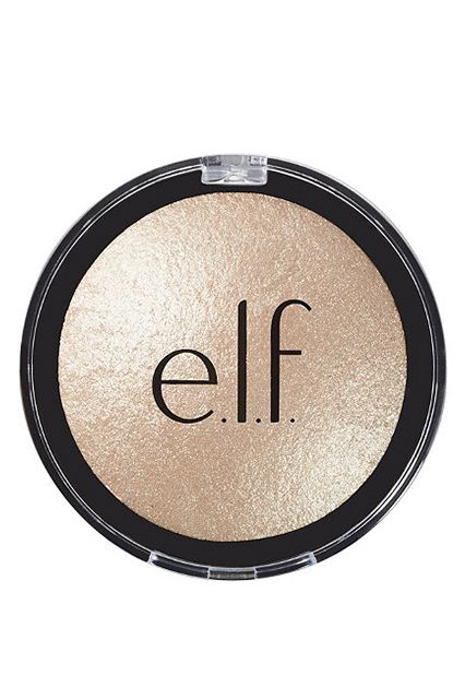 This drugstore highlighter delivers high shine and comes in three not-so-subtle shades: Moonlight Pearls (champagne), Blush Gems (neutral flush), Pink Diamonds (rosy pink). For the price, why not get 'em all?e.l.f. Baked Highlighters, $4, available at E.l.f.. #refinery29 http://www.refinery29.com/2017/01/138036/most-popular-highlighters-pinterest#slide-6