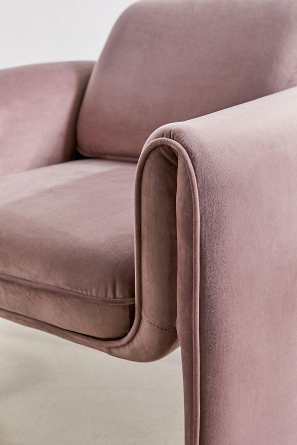 Floria Velvet Chair Recliner Chair Classy Chair Velvet Chair