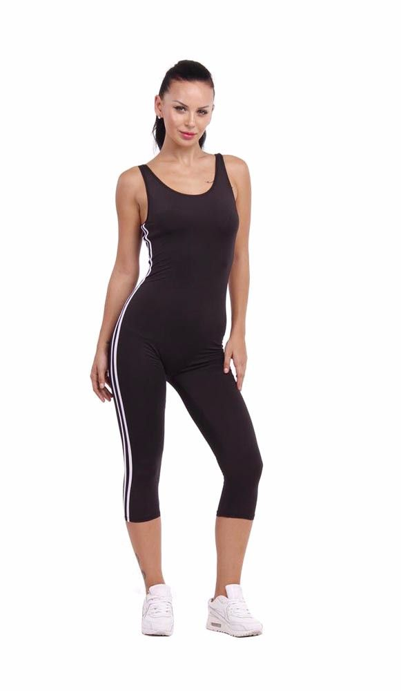 db4411308dec Casual Tight Bodycon Backless Tank Jumpsuit Playsuit - FashionandLove.com