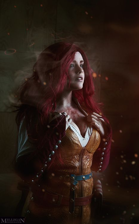 Triss Merigold from The Witcher  Cosplayer: Fenix Fatalist ...
