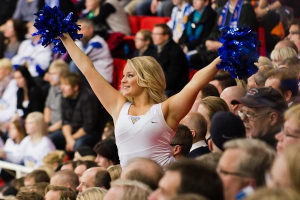 Beautiful cheerleader