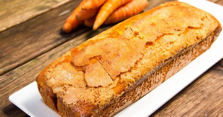 Bizcocho de Zanahoria - Receta facil - Sin gluten - Recetas paso a paso con fotos - Cocina Con Poco