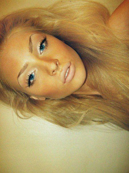 Sunkissed Alena: Makeup Hair Nails, Make Up, Beauty Makeup, Beauty Hair, As, Blue Eyes, Hair Color, Makeup Idea