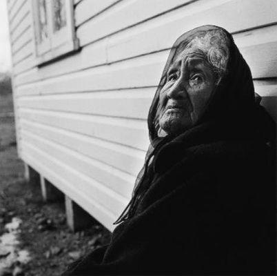 Photography Marti Friedlander. Puti Rakuraku, Tuhoe - 1970
