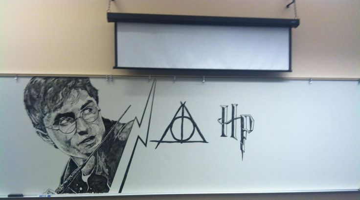 """Done by a janitor at a middle school.  """"You can find light in the darkest of places"""""""