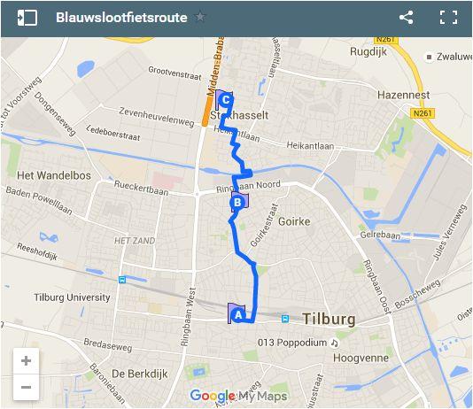 De blauwslootfietsroute! http://blauwtilburg.blogspot.nl/2016/06/blauwslootfietsroute-in-de-maak.html