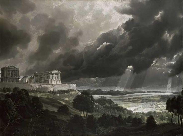 Carel Willink, Landschap onder Regenlucht, 1943