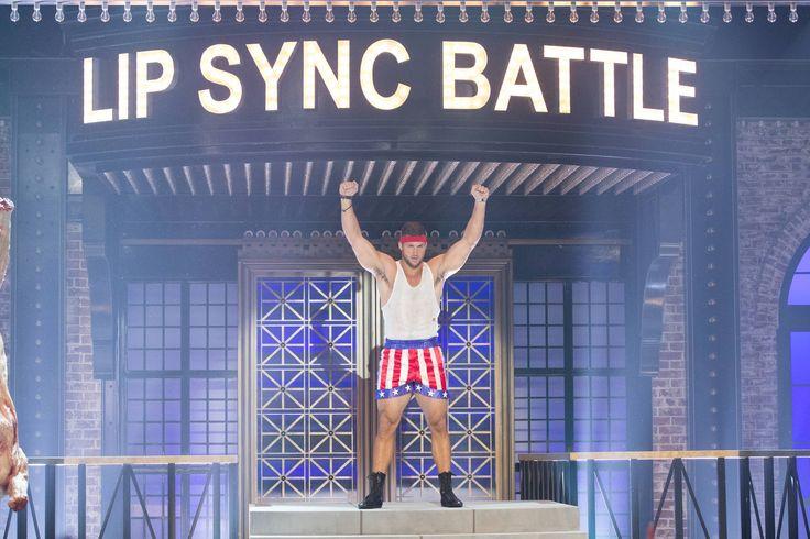 Tim Tebow Channels Rocky on Spike TV's Lip Sync Battle