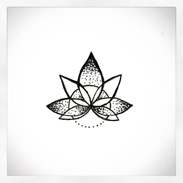 Mandala Wolf Tattoo Designs For Women I Like The: Mandala Lotus For Finger