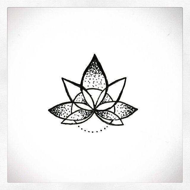 Mandala lotus for finger