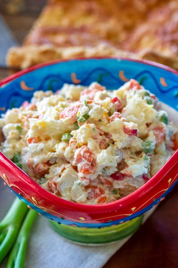 Potato Salad Recipe With Eggs And Carrots