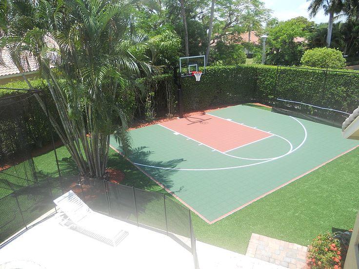 Best 25 backyard basketball court ideas on pinterest - Swimming pool basketball hoop costco ...