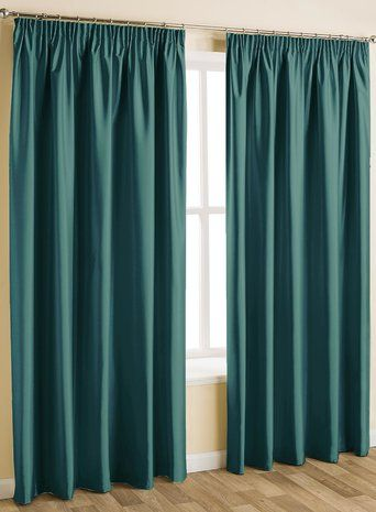 17 Best ideas about Teal Pencil Pleat Curtains on Pinterest ...