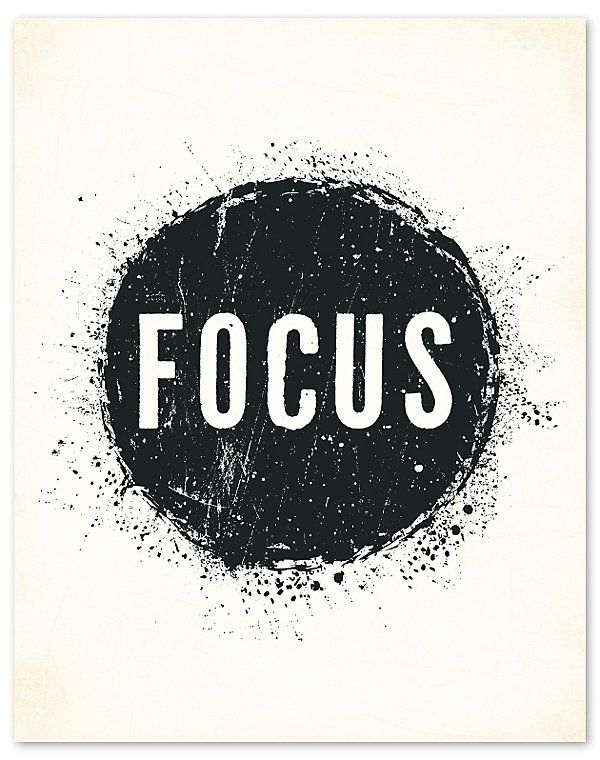 I think I need to hang this by my desk! FOCUS! $22
