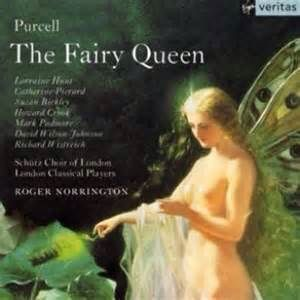 Album cover for Purcell's The Fairy Queen