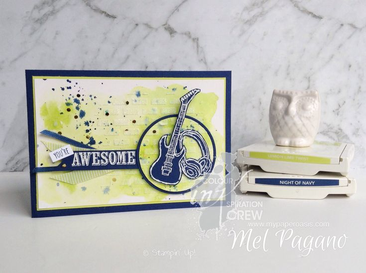 Colour INKspiration 25 - Epic Celebrations by Mel Pagano at My Paper Oasis