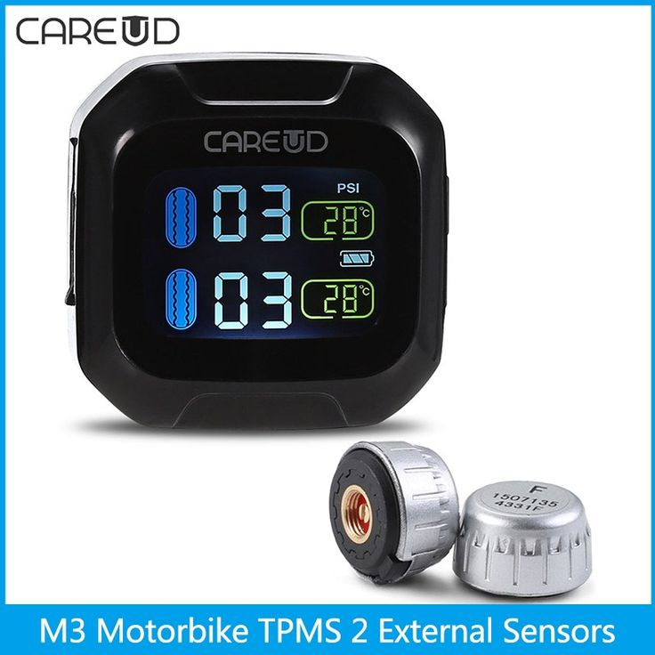 Sale US $50.54  CAREUD M3 WI Real-time Motorbike TPMS Tire Pressure Monitoring System With LCD Display Pressure Temperature Abnormal Alarming  #CAREUD #Realtime #Motorbike #TPMS #Tire #Pressure #Monitoring #System #Display #Temperature #Abnormal #Alarming  #CyberMonday