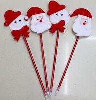 Christmas Holiday Gift Santa and Snowman Ballpoint Pen Christmas Promotion Pen Ad Pen Christmas Ornament Wholesale