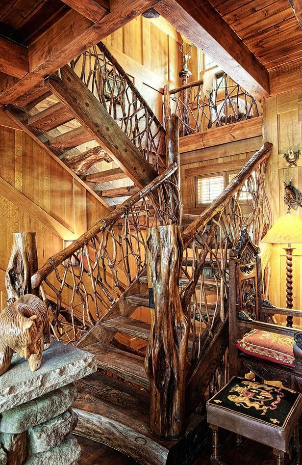 Best 66 Best Cabin Railings For Steps Images On Pinterest 640 x 480