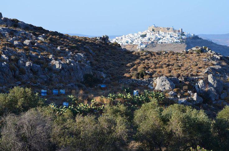 View to Chora #astypalaia #greece #travel  (photo: Louna Gilson @ fb)