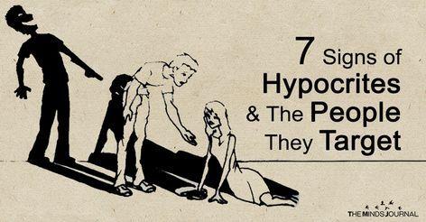 7 Zeichen eines Heuchlers und der Leute, die sie anvisieren – hypocrite