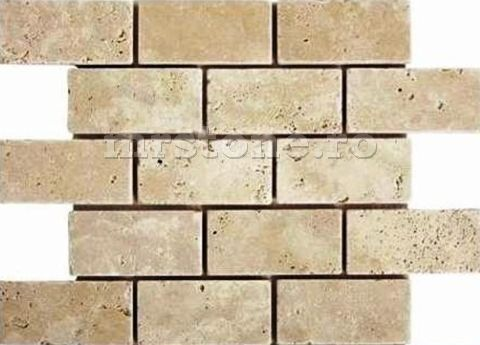 Mozaic Travertin Light Brick