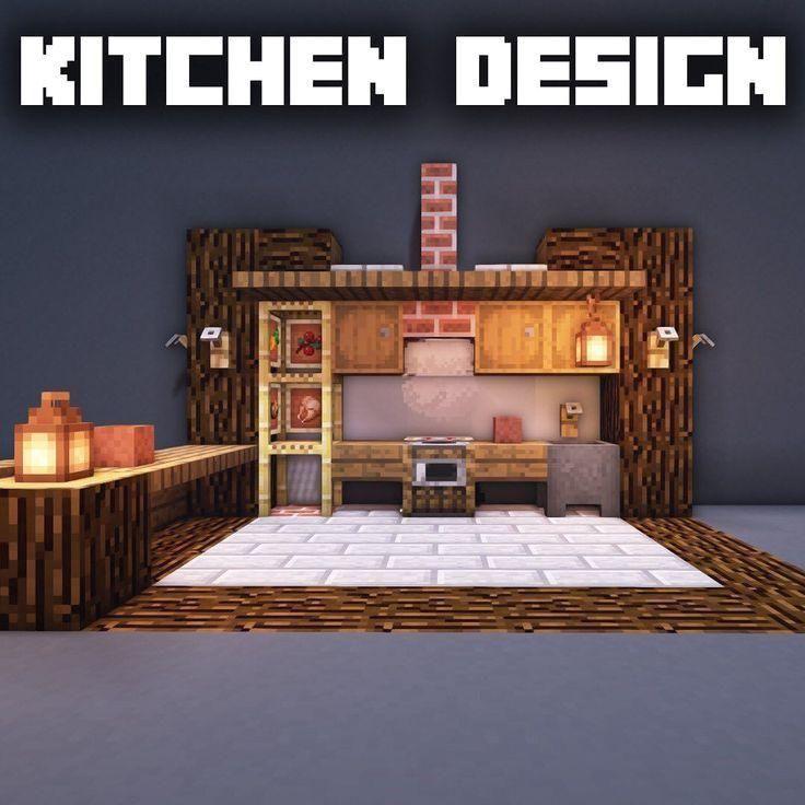Minecraft Kitchen Ideas Modern Minecraft Minecraft Kitchen Ideas Modern Kitchen Id Minecraft Kitchen Ideas Minecraft Room Minecraft Interior Design