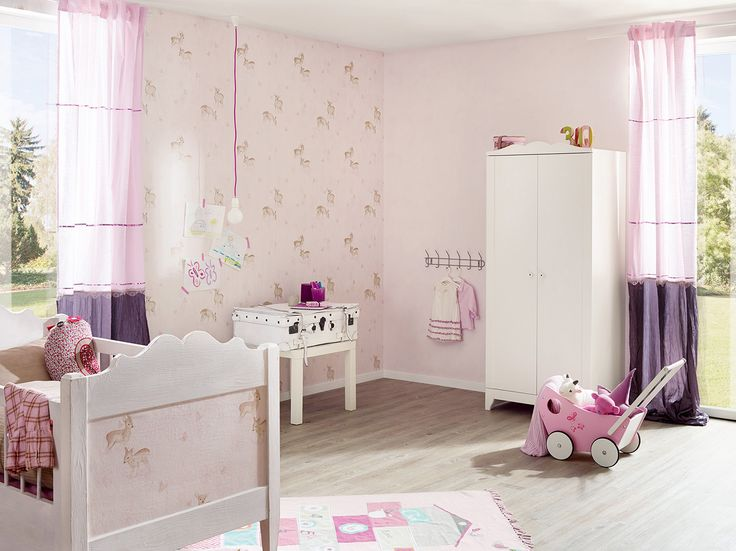 17+ best ideas about kindertapeten on pinterest | fototapete ... - Rosa Tapete Kinderzimmer