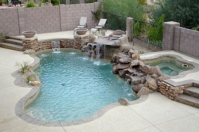 9 best pool multi levels images on pinterest backyard for Pool design mcmurray