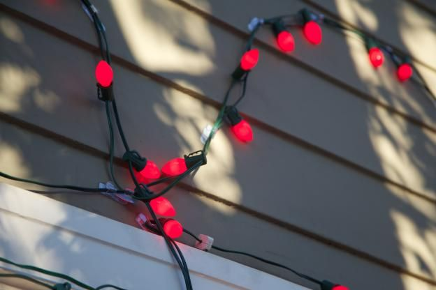 String Lights Around Window : Pin by Command on Christmas Decorating Pinterest