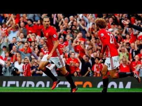 #Euro Champions League 2016# Feyenoord vs Manchester United 1-0 Goal & H...